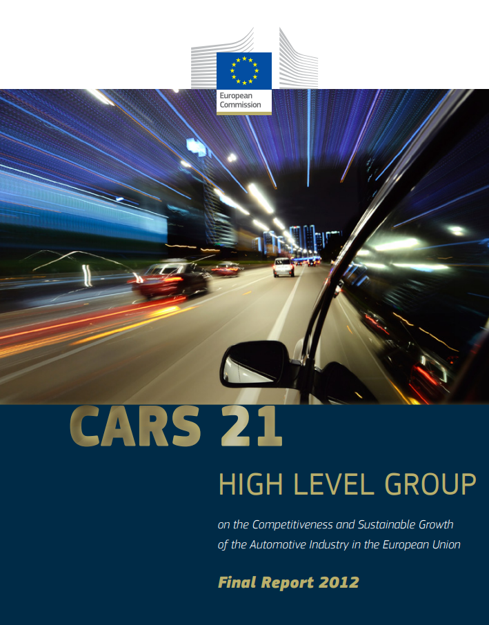 CARS 21 Final Report 2012