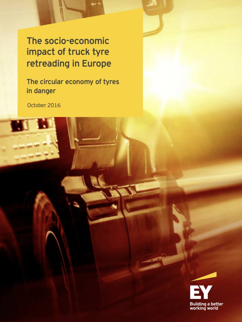 The socio-economic impact of truck tyre retreading in Europe