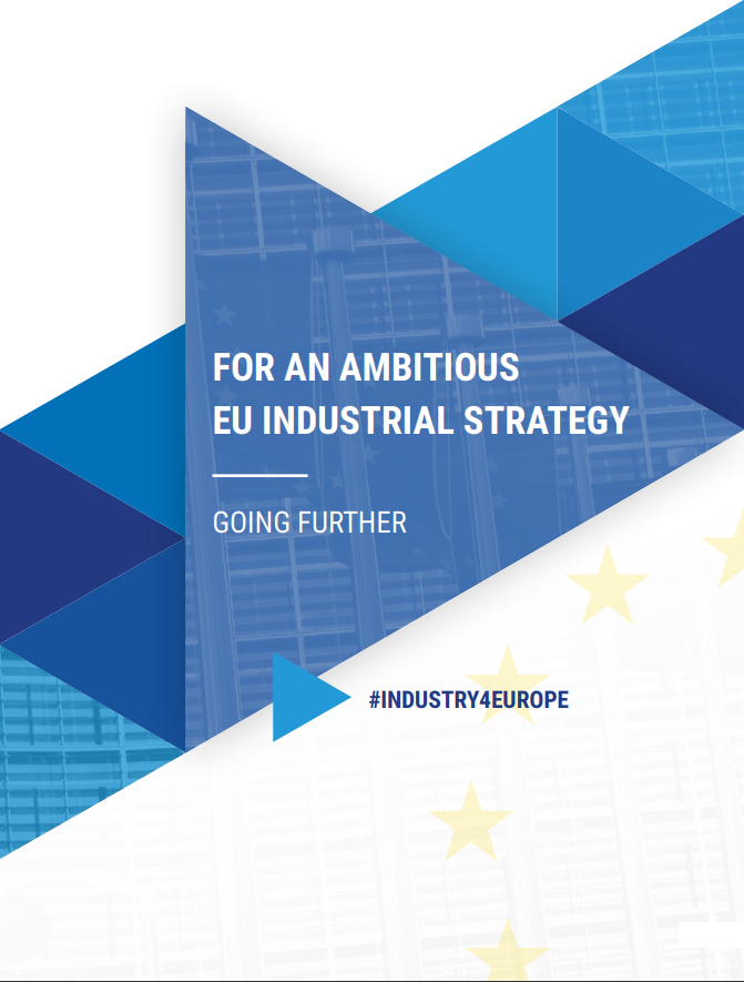Industry for Europe: going further