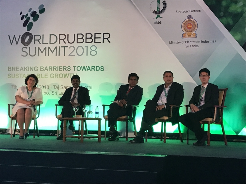 World Rubber Summit 2018, Sri Lanka