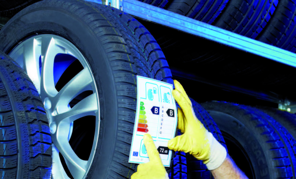 Tyre labelling information