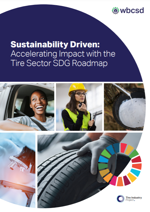 The Tire Sector SDG Roadmap is out